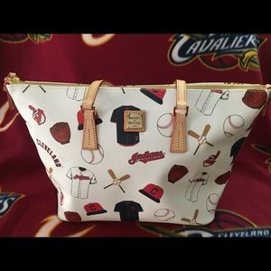 Dooney and Bourke Cleveland Indians Tote NWOT